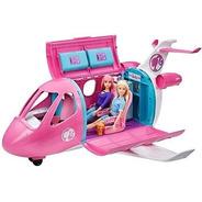 Barbie Dreamplane Avión Jet 15 Pcs Mas Muñeca Gratis