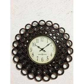 Reloj Decorativo De Pared Vintage Círculos