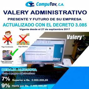 Sistema Valery Administrativo 2016
