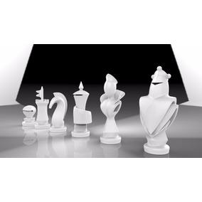 Ajedrez Diseño Moderno. Juguete Didáctico Imprimir 3d