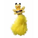 Juguete Gatos Kong Wubba Bug Surtido Con Plumas Amarillo