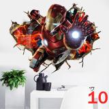 Kit 4 Adesivos Grandes Marvel Vingadores + Frete Grátis!!!