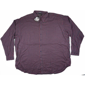 Fina Camisa A Cuadros 4xl Falcon Bay Big Mens 4xlt