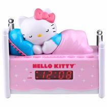 Radio Reloj Despertador Hello Kitty