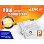 Impresion 1000 Hojas Membretadas Carta Color Mismo Dia Bond
