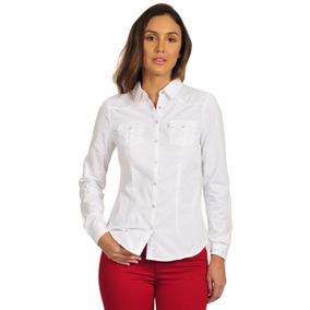 Camisa Manga Larga De Mujer Springfield 0027014