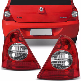 Lanterna Traseira Renault Clio Hatch 2003 A 2011 Bicolor