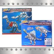 Dinosaurio Esqueleto Metalico Robot Meca Juguete Mi Alegria