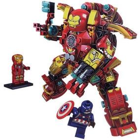 Hulkbuster Iron Man Capitan America Block P Armar - Envios