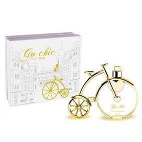 Perfume Bicicleta Go Chic Gold 100 Ml Da Novela Rock Story