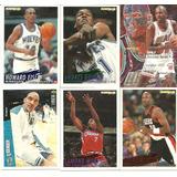 Lote De 6 Barajitas De Basketbol