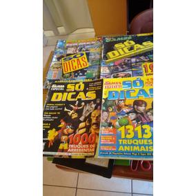 Lote Revistas Ação Games Só Dicas - 8 Edições