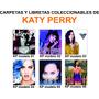Carpetas Y Libretas Coleccionables De Katy Perry
