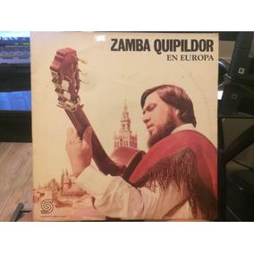 Vinilo Zamba Quipildor En Europa Lp Uruguay 1972