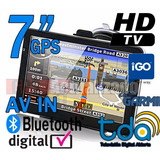 Gps 7 Pulgadas Con Software Garmin E Igo Tv Digital Igo 8 G