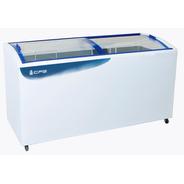Freezer Horizontal Tapa De Vidrio Curvo Cfg 550 Lts 3 Canastos