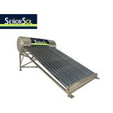 Calentador Solar 160 Lts 5 Personas 12 Tbs Inoxidable