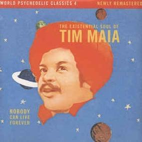 Lp Tim Maia - Nobody Can Live Forever Novo Duplo Importado