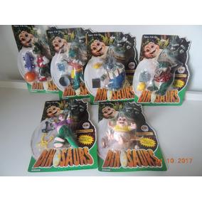 Familia Dinossauro Hasbro Disney 6 Bonecos Raro Unico Novo