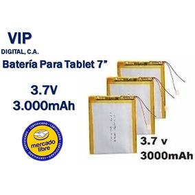 Bateria Pila Tablet 7 Pulgadas China 3000mah 3.7v Oferta