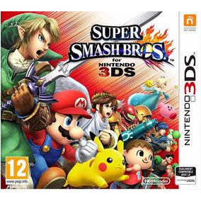 Nintendo 3ds N3d Super Smash Bros 3ds Nuevo Fisico