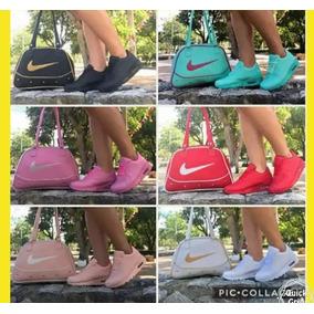 Combo Zapatos Tenis Nike + Bolso Nike , Envio Gratis