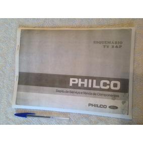 Manual Tv Philco Antigos C/ Esquemarios : Reprodução