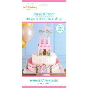 Decoración Para Pastel Princesa 22 Piezas