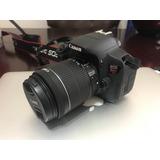 Camara Canon Reflex Eos T5i Lente 18 - 55mm Envio Gratis