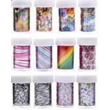 Papel De Transferencia X Uñas - Manicura - Nail Art Foil