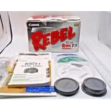 Compro Caja, Cds Y Manuales De Canon Rebel T3 / 1100d