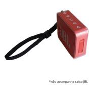 Capa Protetora Jbl Go 2 Case Tpu Proteção Go2 Alça Ajustável
