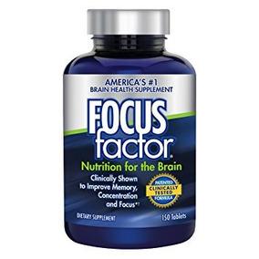 Vitaminas Focus Factor Adultos 150 Pz Nutricion Para Cerebro