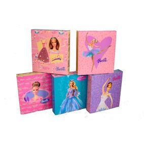 Cajas De Barbie Para Regalo, Dulceros, Etc.