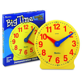 Big Time Reloj Aprendizaje 12 Horas
