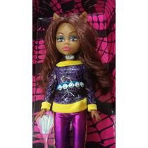 Boneca Monster High Magic Girl Clawdeen Wolf Grande 36 Cm