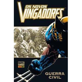 Os Novos Vingadores - Guerra Civil - Coleção Marvel Deluxe