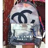 Mochila Chanel Graffiti Destroyed Original Frete Gratis