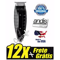 Maquina Acabamento Andis Gtx T Outliner 110v Usa 12x S/ Juro