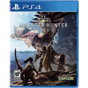 Monster Hunter World - Ps4 Mídia Física - Lacrado