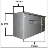 Caja Medidor Electrico Corpoelec De 220 Voltios 75x50x30 Cms