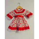 Vestido De Huasa Para Bebés De 0 A 24 Meses.