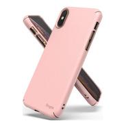 Funda iPhone Xr Apple Original Case Silicona Rose Red - $ 89999