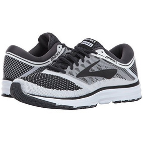 Tenis Brooks Running Revel Para Dama Gris Blanco