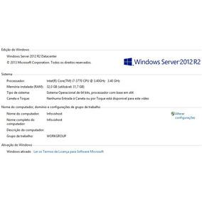 Área De Trabalho Remota Rdp Dedicada Windows 2012 Server