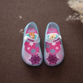 Zapatilla Niñas Estilo Mini Melissa Frozen Varios Colores