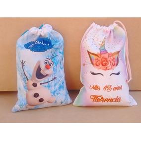 e3668f4c8 Bolsas De Tela Vegetal - Souvenirs para Cumpleaños Infantiles ...