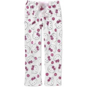 Hello Kitty Pijama Pantalon Afelpada Talla Extra Grande