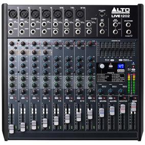 Mesa De Som / Mixer 12 Canais Usb Live 1202 - Alto