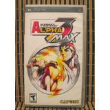 Street Fighter Alpha 3 - Psp Peleas 2d - Capcom Zero 3